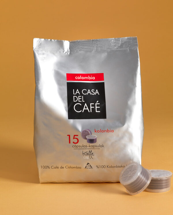 Cápsulas Koffee Cup de café de Colombia