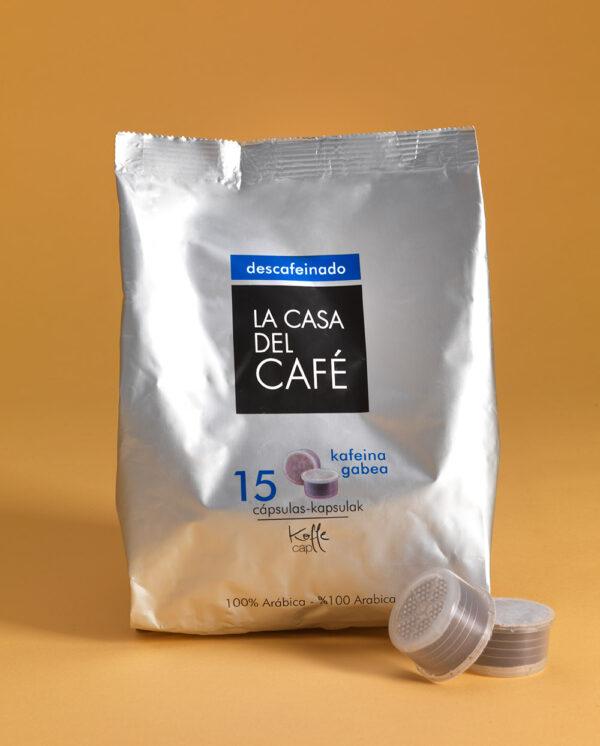 Cápsulas Koffee Cup de café descafeinado