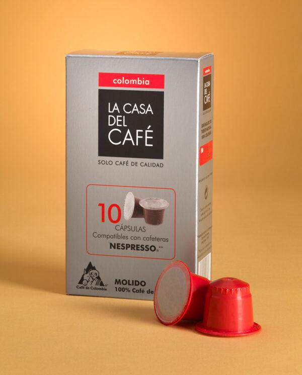 Cápsulas de café Colombia compatibles con Nespresso