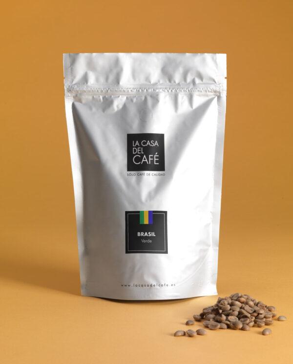 Café verde de Brasil en grano