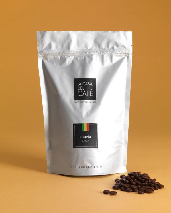 Café de Etiopía en grano