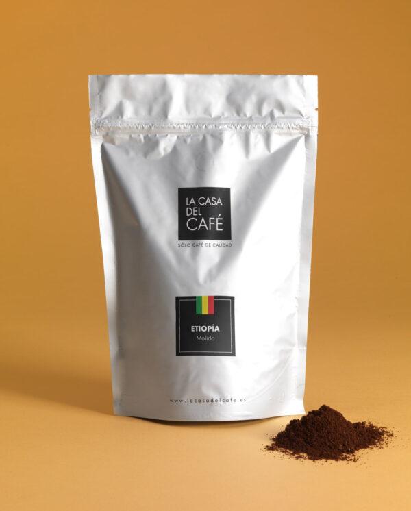 Café de Etiopía molido