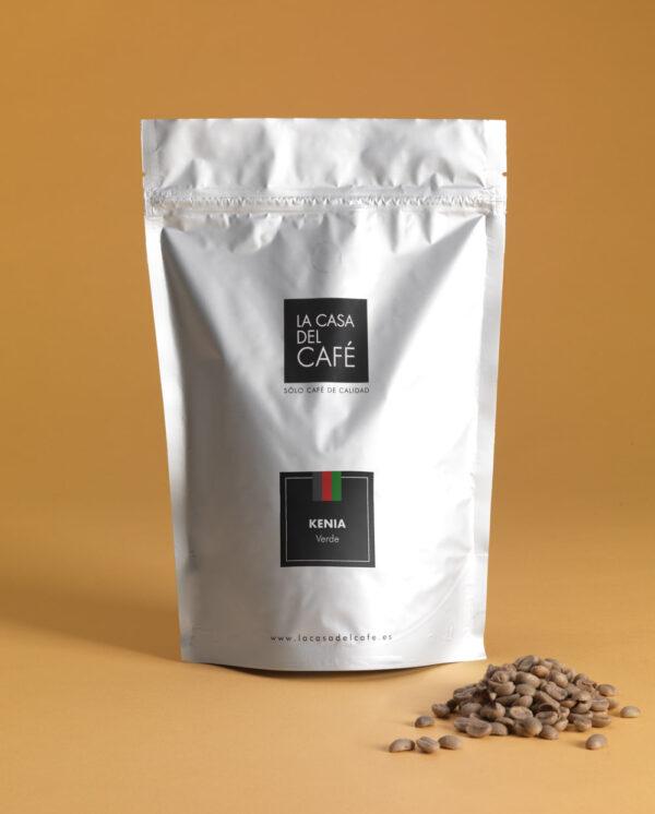 Café verde de Kenia en grano