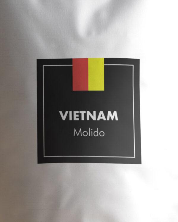 Etiqueta Café de Vietnam molido