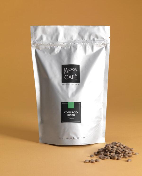 café verde de comercio justo