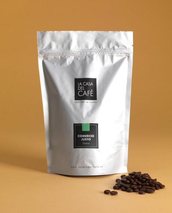 café de comercio justo grano