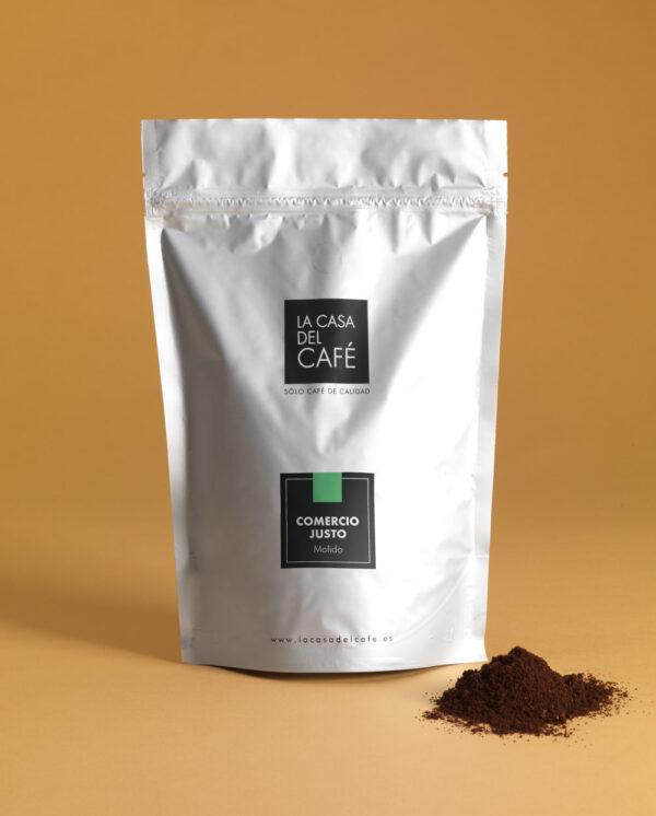 café de comercio justo molido